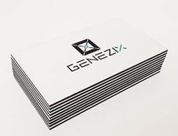 Печать визиток в Москве на заказ